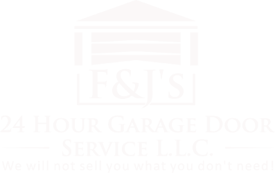 FnJs 24 Hour Garage Door Service - white